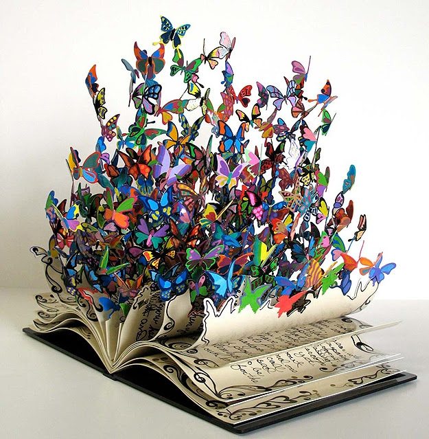 Book Of Life Beautiful Butterflies Burst From This