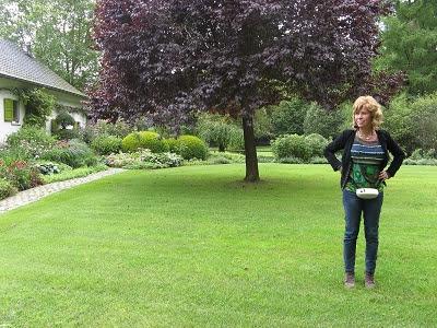 Privatgarten Dina Deferme Belgien Foto Brandt