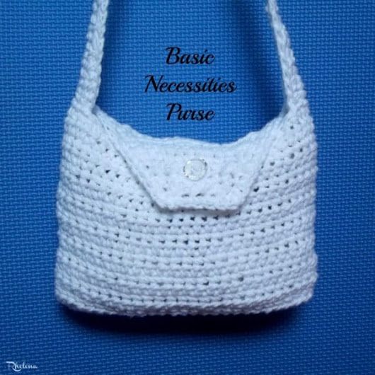 Basic Necessities Purse - CrochetN'Crafts