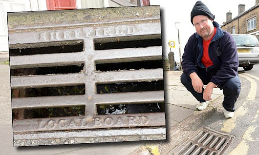 Britain's first 'drain spotter' spends life looking at sewer covers
