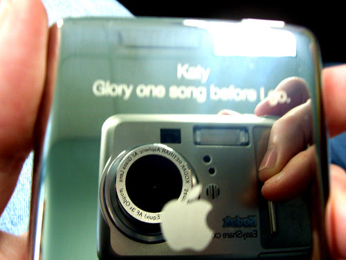 Engraving on my new iPod