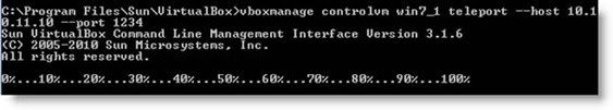 Test VirtualBox Teleportation Normal PC