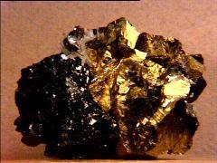 Chalcopyrite and Sphalerite
