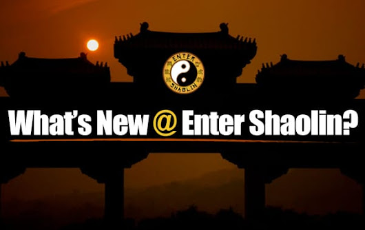 Enter Shaolin Update | Keep Moving Forward + Tai Chi Principles & More