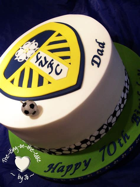 Pin Leeds United Icing Birthday Cake Toppers Ebay Cake on