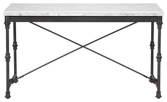 French Kitchen Table - traditional - dining tables - by Crate&Barrel