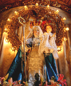 Image result for our lady of good success original statue