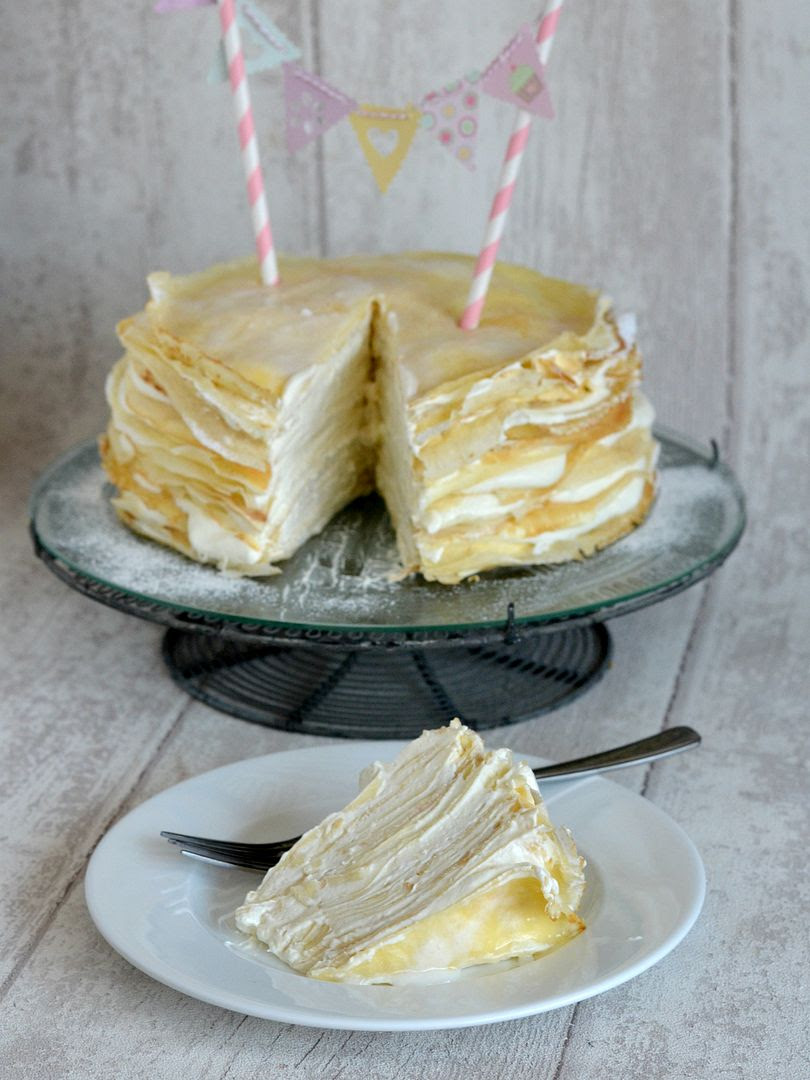 Creamy Crepe Cake for Pancake Day