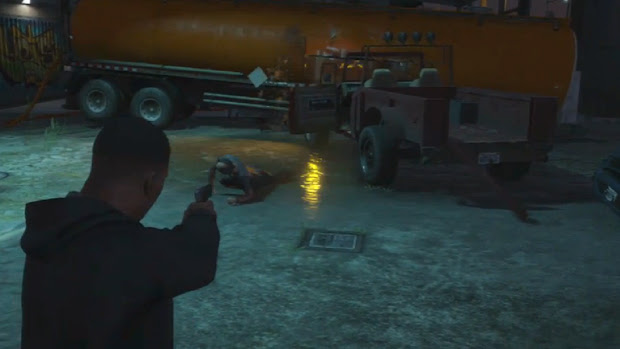 No Final A o insano Trevor é exorcizado por uma morte em chamas (Foto: IGN / Reprodução)