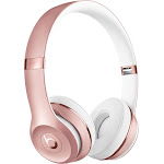 Beats Solo3 Bluetooth Wireless On-Ear Headphones with Mic - Rose Gold