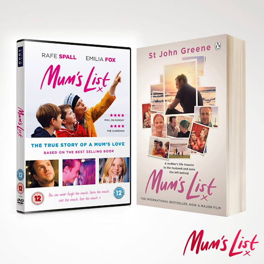 Win Mum's List Book & DVD - Serenity You