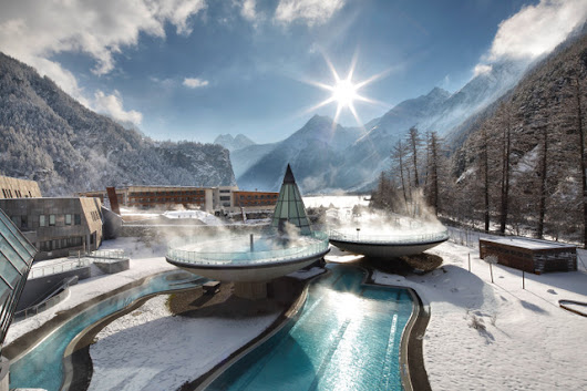 Aqua Dome wellness hotel: Ski, spa & savor Austria's Alps | Getting On Travel