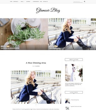 Glamour Blogger Templates