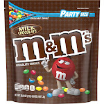 M & M Chocolate Candies, Milk Chocolate, Party Size - 42 oz