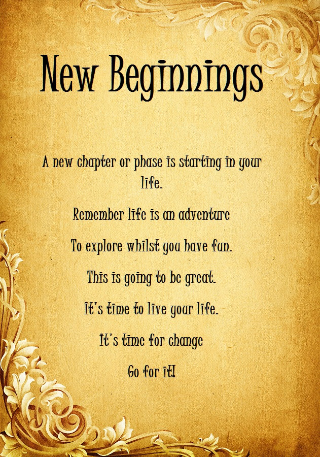 Quotes About Beginning Of Life 230 Quotes