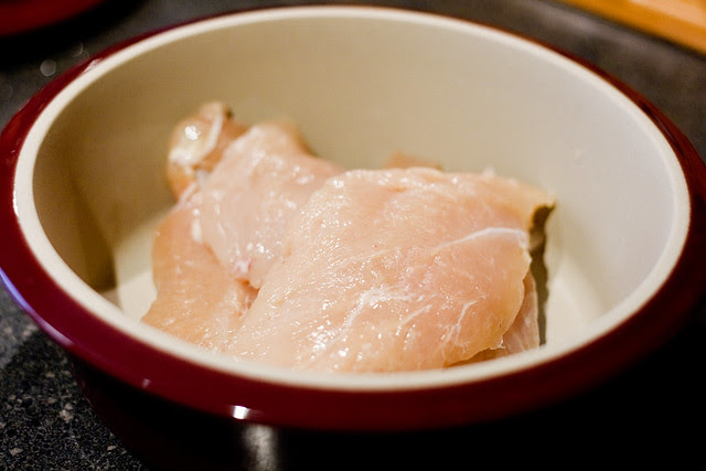chicken, raw
