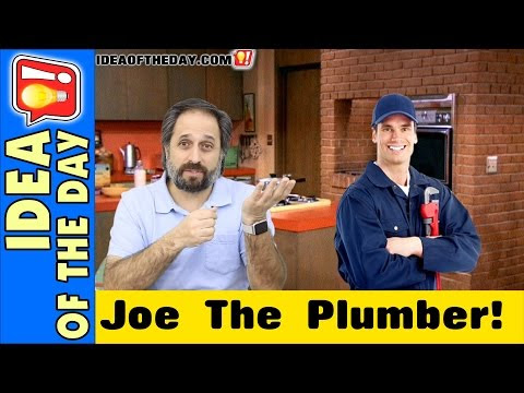 Joe The Plumber... in the President's Cabinet. - Idea of the Day - A new idea each day. Some Don't Suck!