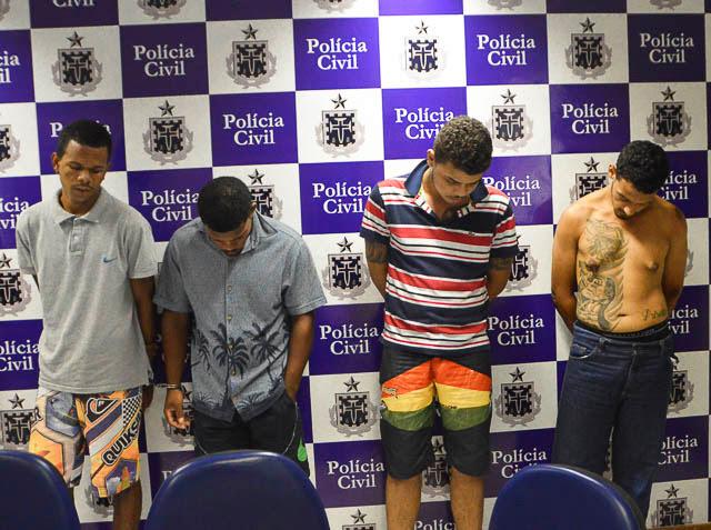 Operação da Polícia Civil prende acusados de homicídios e tráfico de drogas em Feira de Santana