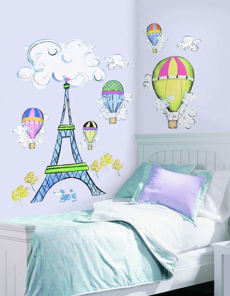 Kreative Wandgestaltung für Jugendzimmer und Kinderzimmer