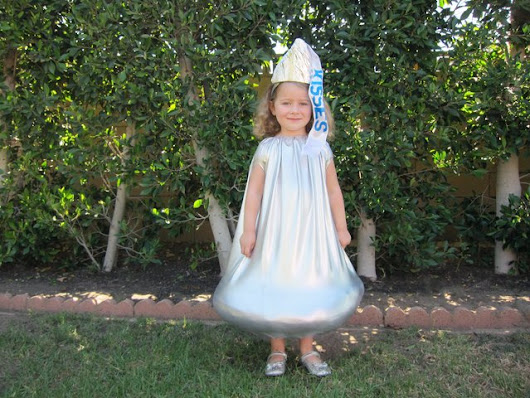 How to Make a Hershey's Kiss Costume for Kids | eHow