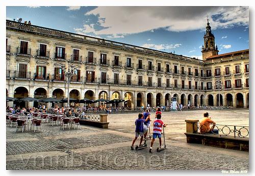 Plaza de España by VRfoto