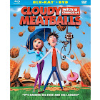 Cloudy with A Chance of Meatballs, 2-Disc [Blu-Ray/DVD]