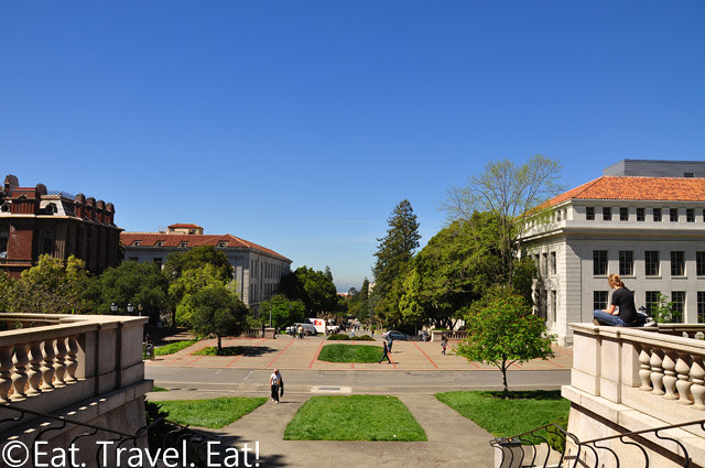 UC Berkeley, Berkeley, CA- View from Sather Tower