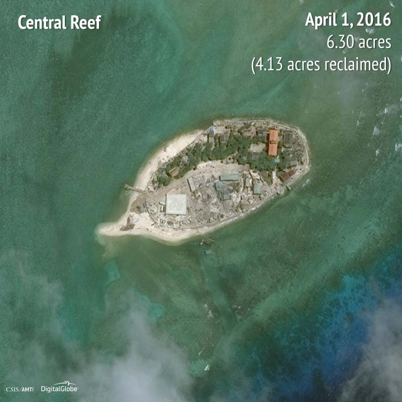 Central Reef 2016 | 4.13 acres reclaimed