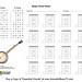 Essential Chords, Banjo Blank Chord Boxes Horz