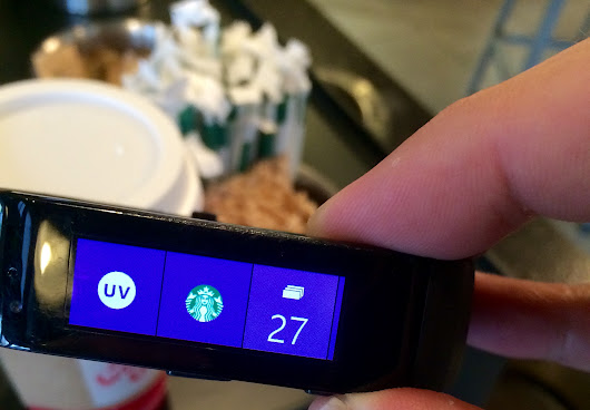 Microsoft Band Diary: SportsCenter, Starbucks and, yes, exercise - GeekWire