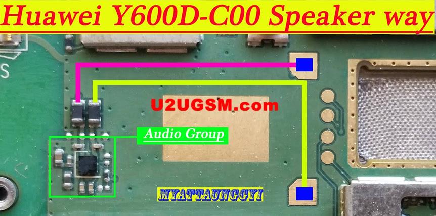 Huawei Y600D-C00 Ringer Solution Jumper Problem Ways
