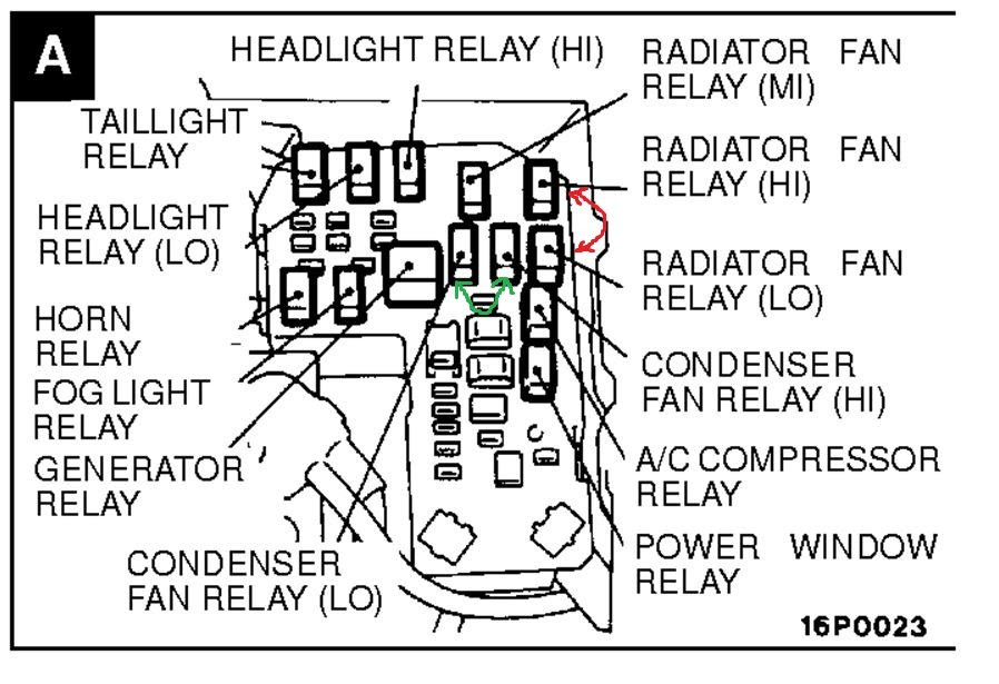 2002 Montero Sport Fuse Box Diagram