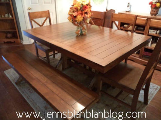 Win a Walker Edison Millwright 6-pc Wood Dining Set in Antique Brown Giveaway