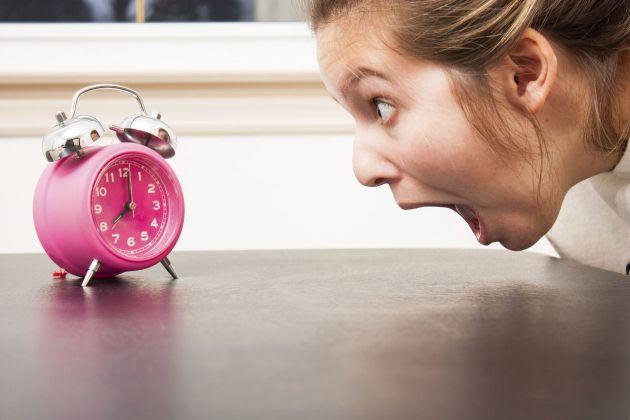 reloj tarde