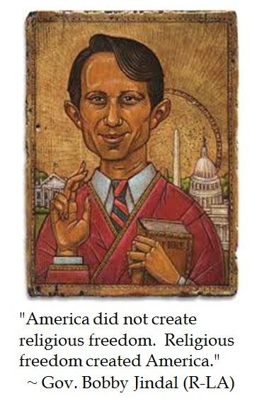 Bobby Jindal Religious Liberty
