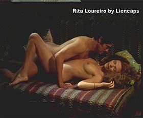 Rita Loureiro nua no filme O Quaresma