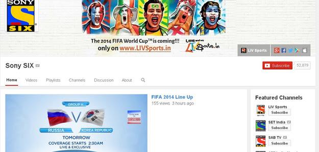 Sony SIX  youtube