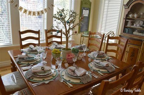 A Sunday Table: An Easter Table