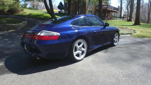 2003 Porsche 911 Carrera 4s Cobalt Blue Metallic In