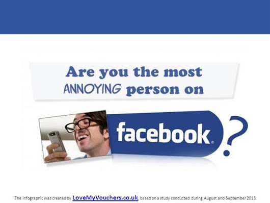 Are You the Most Annoying Facebook User Type ?