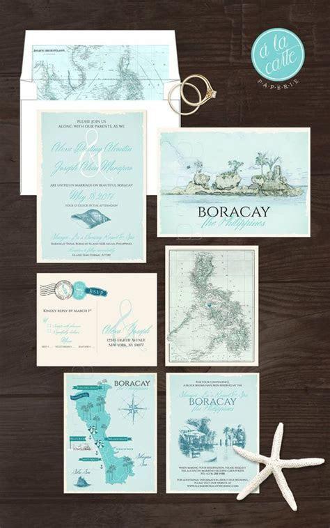 Boracay Island The Philippines Wedding by alacartepaperie