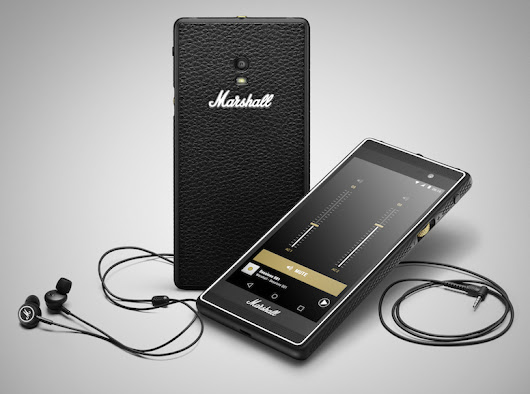 Marshall London : prise en main d'un smartphone Rock'n'roll - CNET France