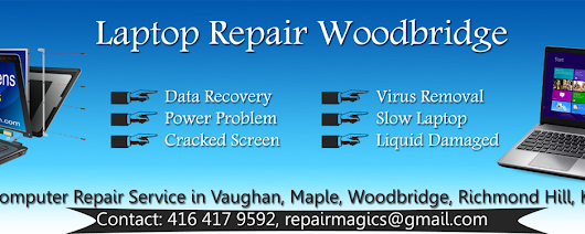 Laptop Repair Woodbridge | Repair Magic