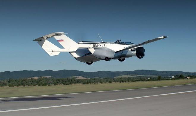 Аэрокар-трансформер AirCar совершил первый междугородний рейс