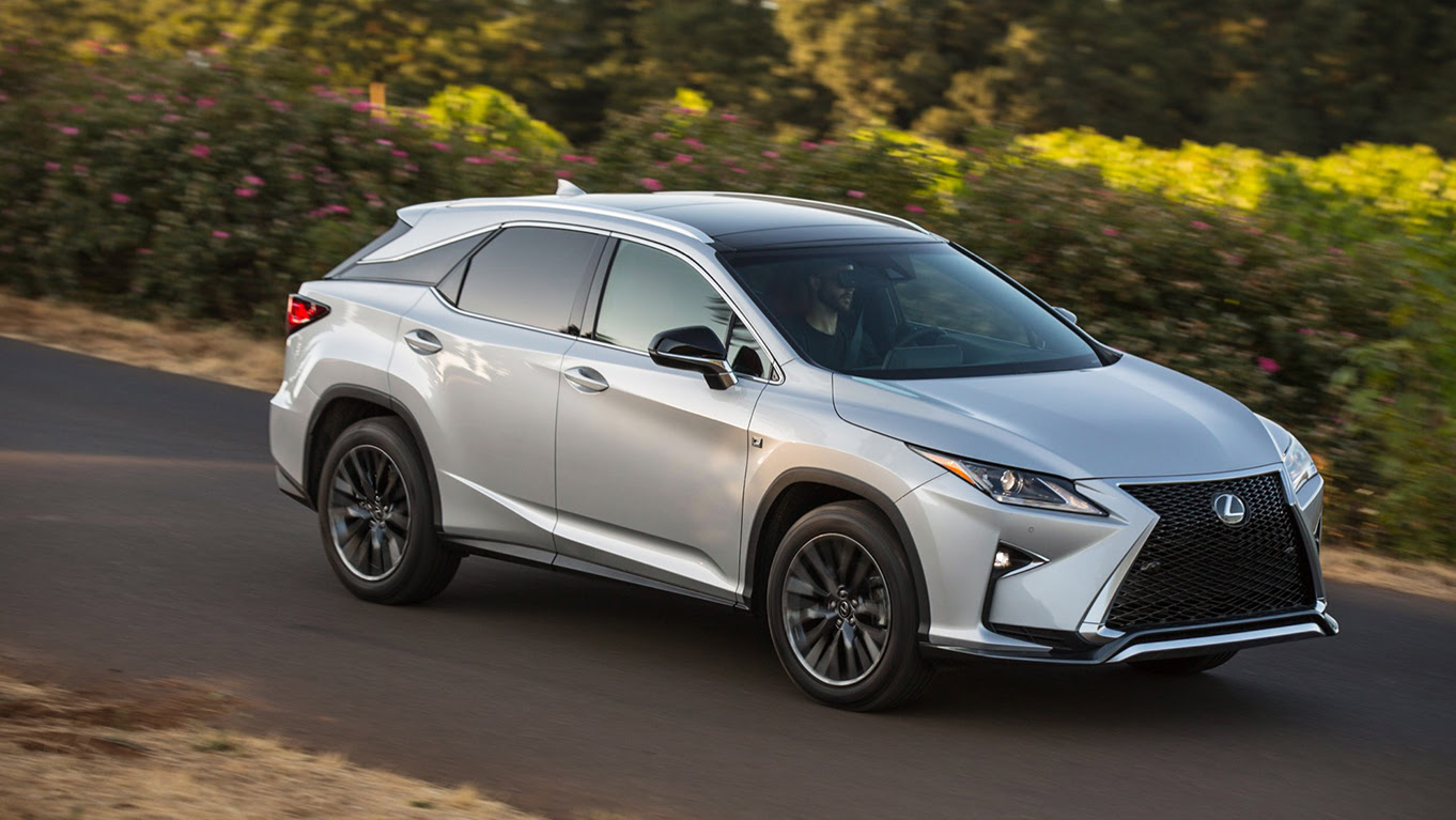 Motor Authority: The 2016 Lexus RX 350 F SPORT First Drive ...