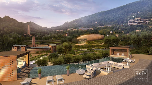 SASSEUR Eco-tourist Village in Chongqing City - e-architect