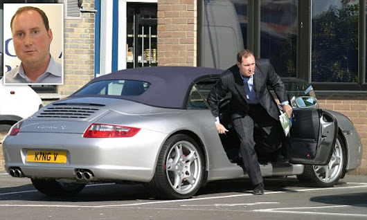 Millionaire businessman caught putting fake plates on his luxury cars