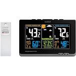 La Crosse Technology Wireless Weather Station, w/Color Display, Black