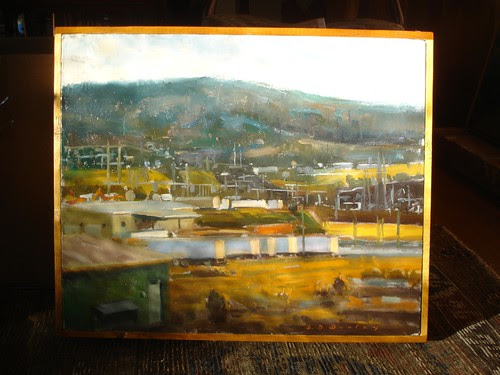 Oil by David Brian Dooley, Shreveport by trudeau