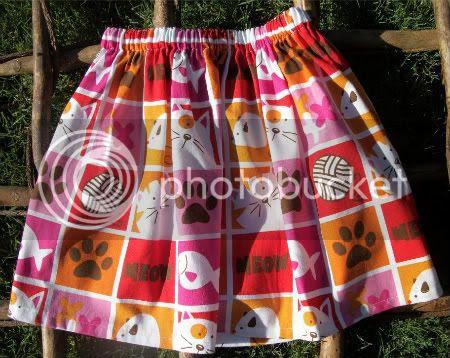 Meow skirt - size 5